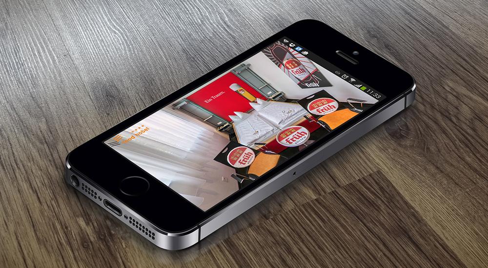 Smartphone Ansicht